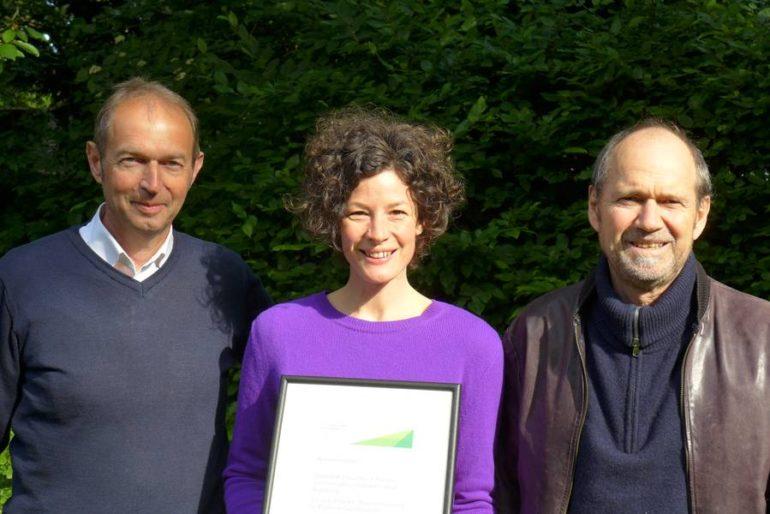 Die Preisträger: Karl-Heinz Danielzik, Friederike Marwede, Reiner Leuchter